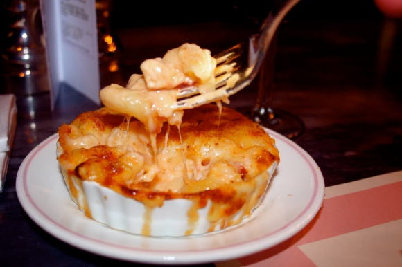 Bob Bob Ricard lobster macaroni cheese picture