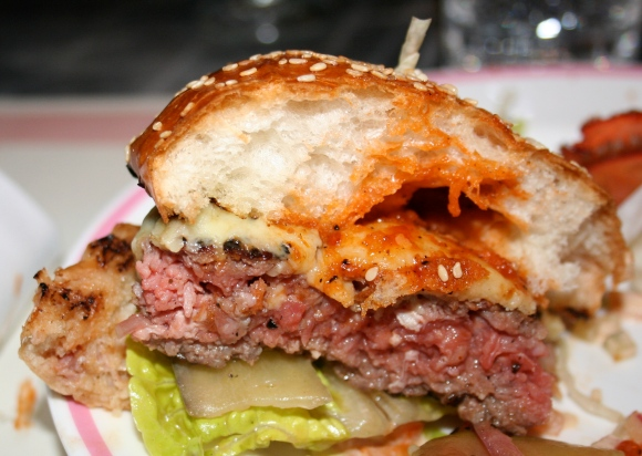 Bob Bob Ricard beef burger