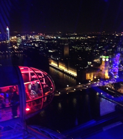 London Eye view Red Bull Revolutions in Sound image