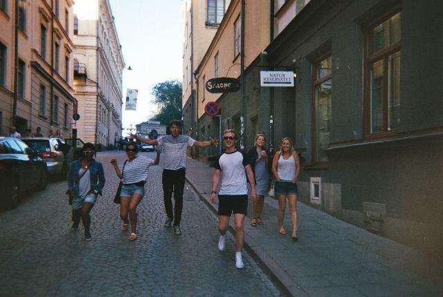 Stockholm people image
