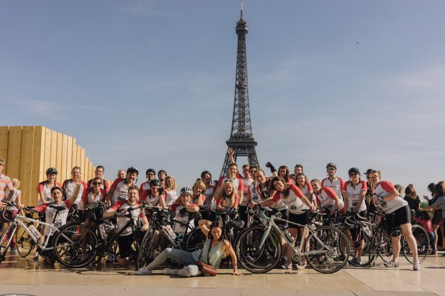 Paris Eiffel Tower Cycling